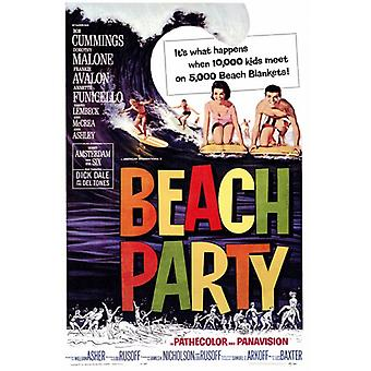 Beach Party Movie Poster Print (27 x 40)
