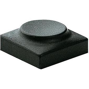 Marquardt 825.000.011 Sensor Cap Button cap blank Anthracite Compatible with Series 6425 without LED