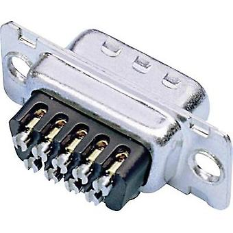 D-SUB receptacles 180 ° Number of pins: 25 Screws Amphenol 77D B25S ST 1 pc(s)
