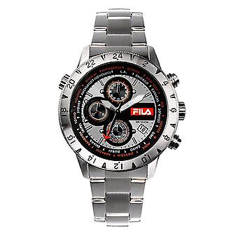 Fila men's watch chronograph stainless steel FA38-007-002