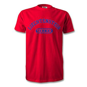 Liechtenstein Soccer Kids T-Shirt