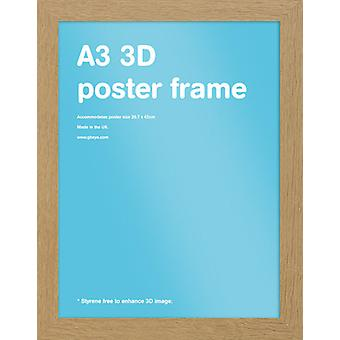 GB Carvalho Frame - A3 29.7x42cm - 30mm