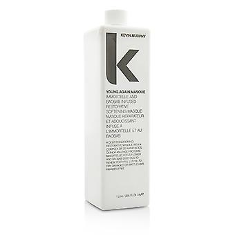 Kevin Murphy Young.Again.Masque (Immortelle and Baobab Infused Restorative Softening Masque - To Dry Damaged or Brittle Hair) 1000ml/33.6oz