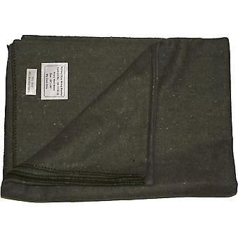 New Military Army Rescue Style Heavy Wool Blanket