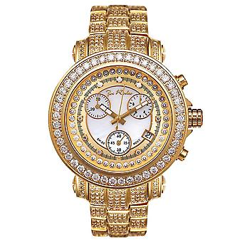 Joe Rodeo diamond men's watch - RIO gold 9.5 ctw