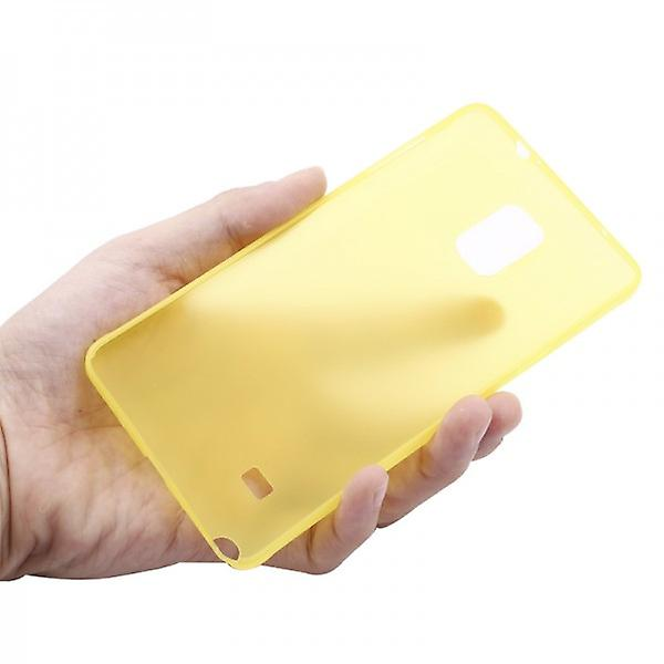 Hard case yellow 0.3 mm ultra thin case for Samsung Galaxy touch 4 N910 N910F