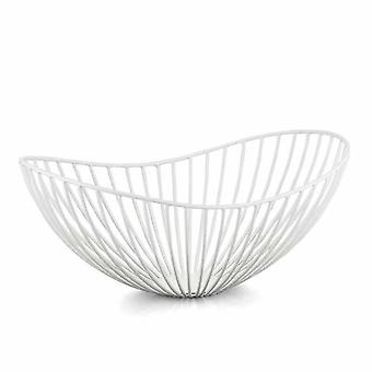 Philippi Emily basket S from steel powder-coated white Bowl