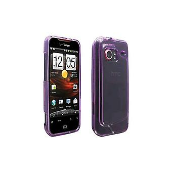 OEM Verizon Snap-On Case for HTC Droid Incredible 6300 (Translucent Purple) (Bul