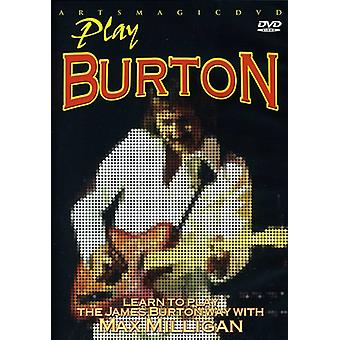 James Burton - Play Burton [DVD] USA import
