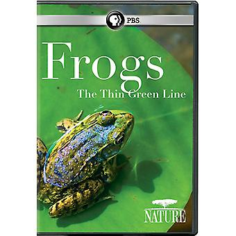 Nature: Frogs: The Thin Green Line [DVD] USA import