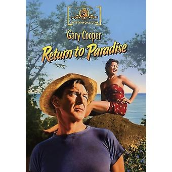 Return to Paradise [DVD] USA import