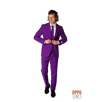 Purple Prince purple suit Mister purple Opposuit slimline Premium 3-piece set