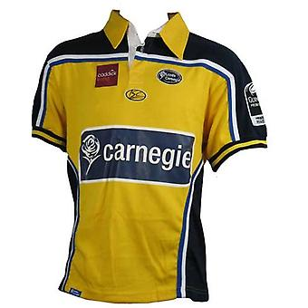 ISC leeds carnegie away rugby shirt [yellow]