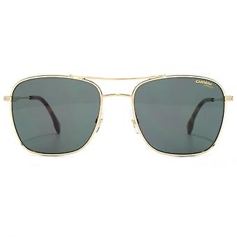 Carrera 130 Sunglasses In Gold Green
