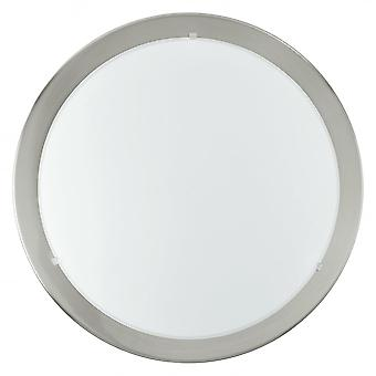 Eglo Planet 1 Licht moderner Wand/Decke Licht Nickel Matt Finish
