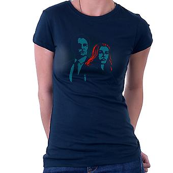 Truth Seekers Mulder and Skully X Files Women's T-Shirt