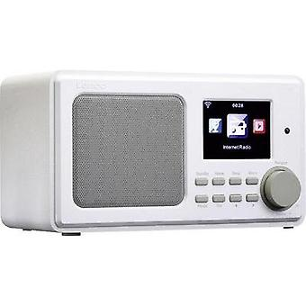 Internet Table top radio Lenco DIR-100 Internet radio, USB, AUX White