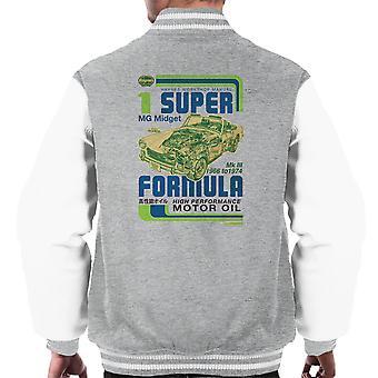 Haynes MG Midget Formel Motoröl Männer Varsity Jacket