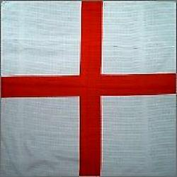 St. George-s/England Bandanna - Size 55cm