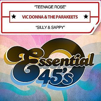 Vic Donna & parakiter - Teenage Rose / Silly & Sappy (Digital 45) [CD] USA import