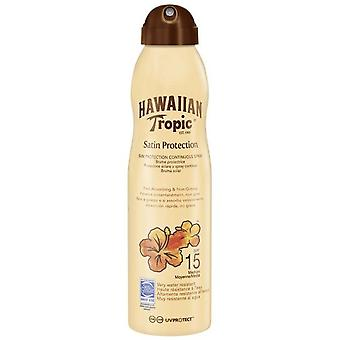 Hawaiian Tropic Satin Protection Spray Spf15 220 Ml Brume