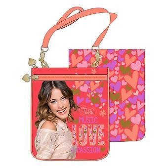 Bolsa de ombro de Violet Disney música amor
