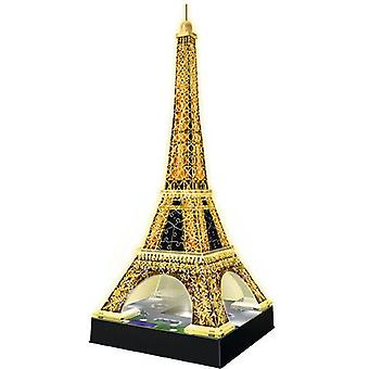 Ravensburger 3D Tour Eiffel Lights 47 Cm. 216 Parts (Toys , Boardgames , Puzzles)