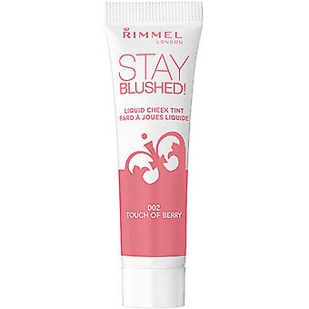 Rimmel London Bleiben Blushed Cheek Tint Flüssigkeit (Damen , Make-Up , Gesicht , Rouge)