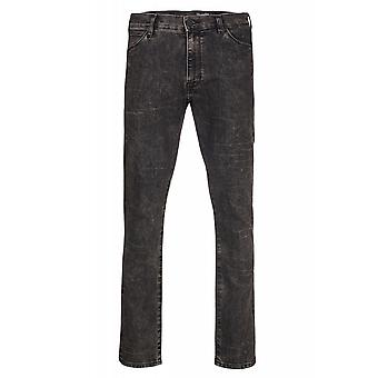 Wrangler Lars tone trousers mens jeans Brown 5-Pocket stretch