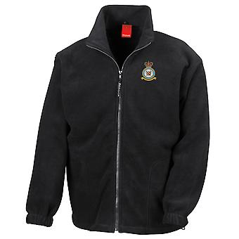 Mountain Rescue Embroidered Logo - Official Royal Air Force Full Zip Fleece
