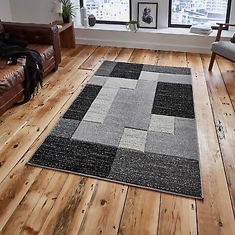 Matrix Teppiche A0221 In schwarz