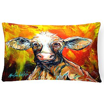 Carolines Treasures  MW1225PW1216 Another Happy Cow Fabric Decorative Pillow