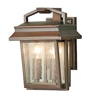 Elstead Newlyn 2 Light Wall Lantern IP43