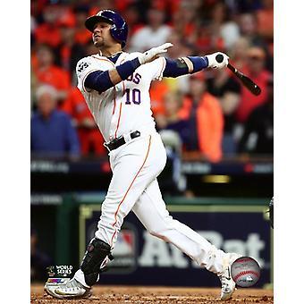 Yuli Gurriel Three-run Home Run Game 5 of the 2017 World Series Photo Print