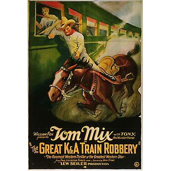 Great K & A Train Robbery Movie Poster (11 x 17)