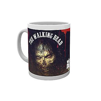 The Walking Dead Mug Survivor Walker face new Official AMC White Boxed