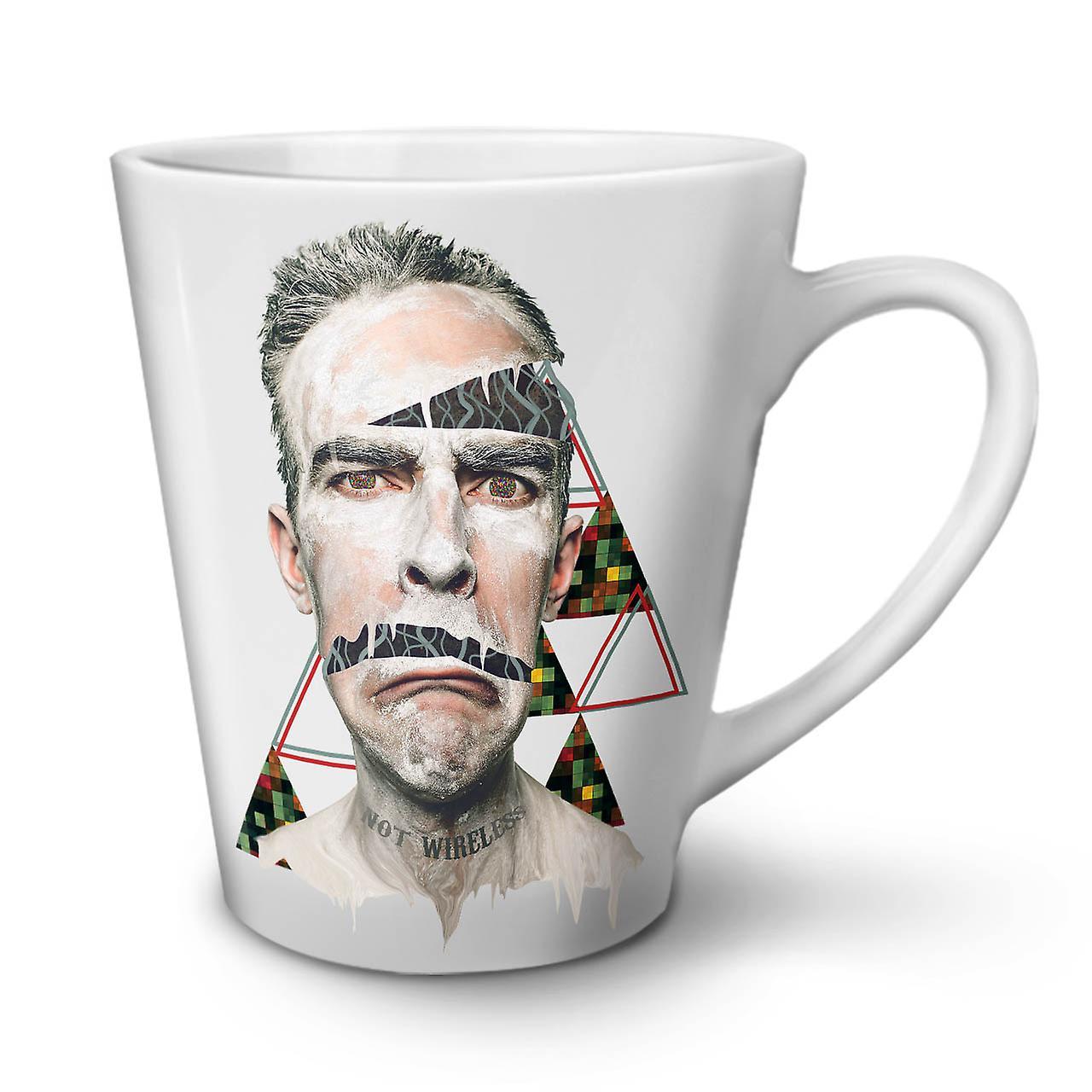 À 12 Nouvelle Impression Face Blanche De Tasse En OzWellcoda Céramique Forme Motif Café Latte c5uK3TF1Jl