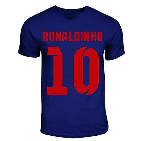 Ronaldinho Barcelona Hero T-shirt (navy)