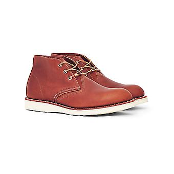 Red Wing Heritage Work Chukka Leather Tan