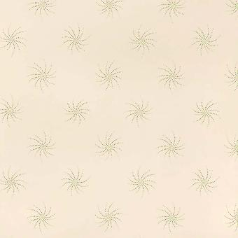 Sanderson Cream Wallpaper Roll - Feature Flat Starlight Design - DOPTST108