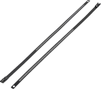 Cable tie 300 mm Black Coated KSS ASTN-300