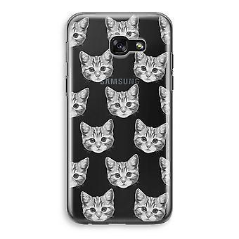 Samsung Galaxy A5 (2017) Transparent Case - Kitten