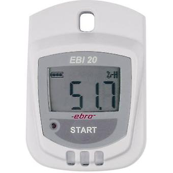 Multi-channel data logger ebro EBI 20-TH1 Unit of measurement Humidity, Temper
