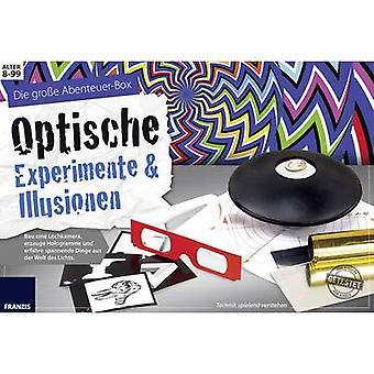 Science kit (set) Franzis Verlag Optische Experimente & Illusionen 978-3-645-65302-2 8 years and over
