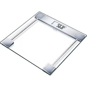 Digital bathroom scales Sanitas SGS 06 Weight range=150 kg Glass