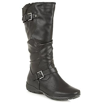 Lotus Calista Womens Calf Length Boots