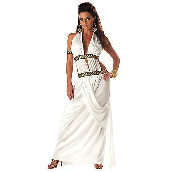 Spartan Queen Roman Greek Goddess Toga Gorgo Queen of Sparta Womens Costume