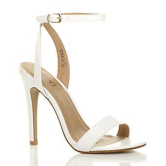 Ajvani женский пятки платформы лодыжку ремень едва там strappy сандалии Обувь