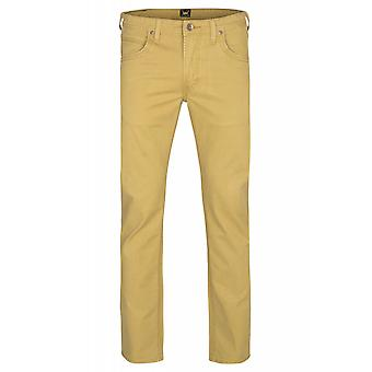 Lee Daren zip fly men's trousers of jeans beige L70DGK74