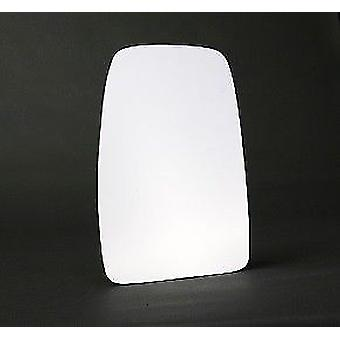 Left Stick-On mirror glass for Opel MOVANO Dumptruck 2003-2010